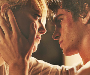 andrew garfield, love, and emma stone image