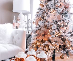 christmas, christmas tree, and decoration image