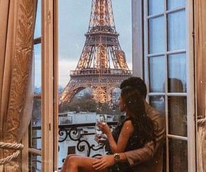 paris, couple, and love image