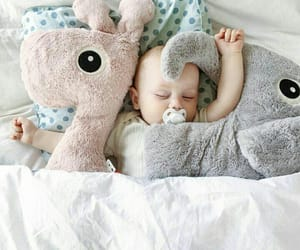 baby, nap, and sleeping image