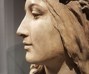 escultura, bianca, and museo image