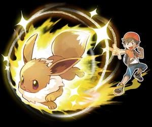 eevee, pokemon, and veevee volley image