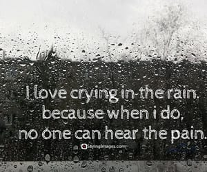 quotes, rain, and broken image