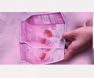 korean, pink, and products image