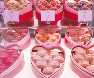 food, pink, and heart image