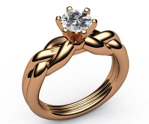 birthday, swirl, and engagement ring image