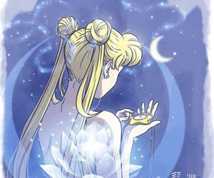 anime, moon, and sailor image