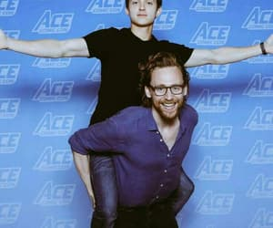 blue, tom holland, and heroes image