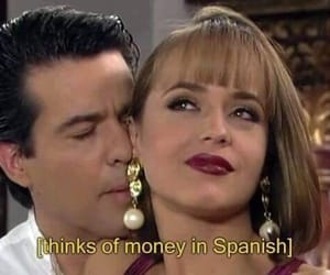 money, español, and funny image