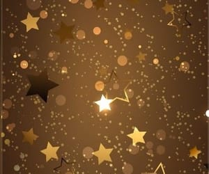 gold and stars image
