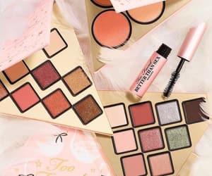 girly, makeup, and mascara image