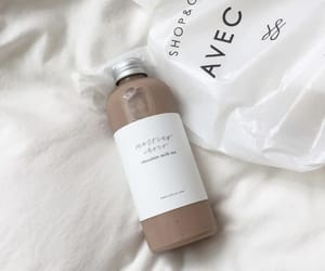 drink, aesthetic, and white image