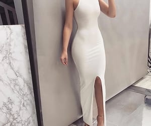 dress, body, and girl image