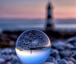 inspiracion, bola de cristal, and reflejo image