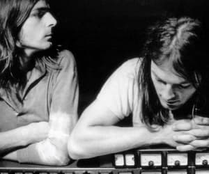 david gilmour, Pink Floyd, and richard wright image