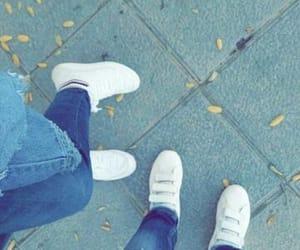 adidas, autumn, and boyfriend image