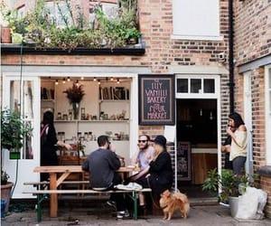 cafe, bakery, and london image