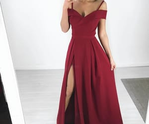 colour, long, and dress image