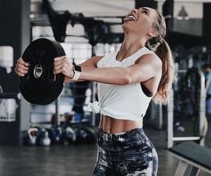 beauty, fitness, and gym image