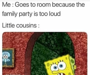 cousins, funny, and memes image
