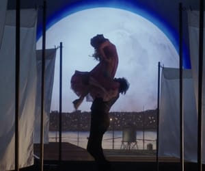 aesthetic, circus, and moon image