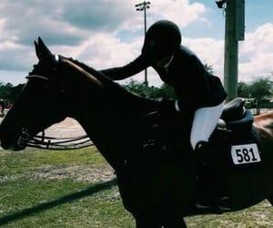 aesthetic, riding, and saddle image