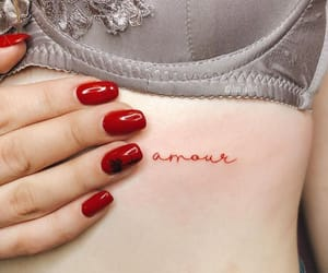 nails, small tattoo, and cute image