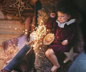 baby, christmas, and kid image