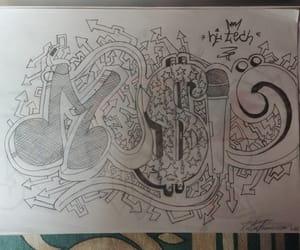 disegno, draw, and graffiti image