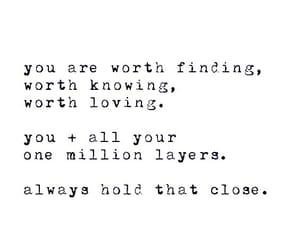 You are worth