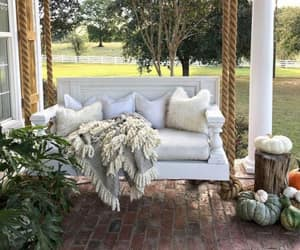 outdoor furniture, outdoor ideas, and outdoors image