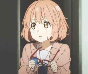 anime, kyoukai no kanata, and anime girl image