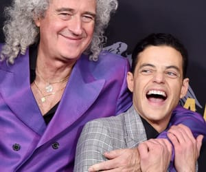 queen band, brian may, and bohemian rhapsody image
