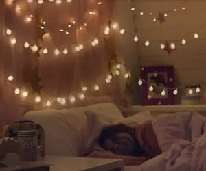 bed, christmas, and cozy image