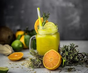 citrus, herb, and lime image