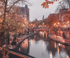 autumn, city, and travel image