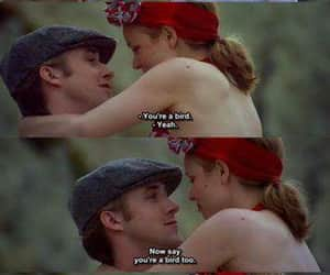 love, the notebook, and bird image
