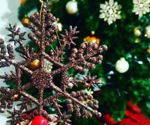 christmas and snowflake image