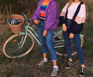 aesthetic, bike, and fashion image