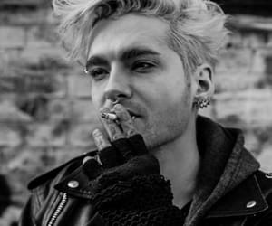 bill kaulitz, tokio hotel, and smoking image