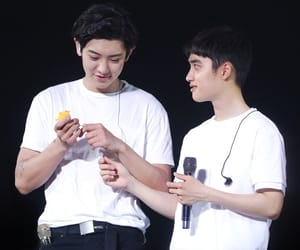 kyungsoo, exo couples, and chanyeol image