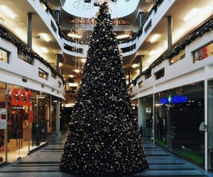 christmas, christmas tree, and cinema image