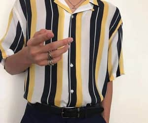 black, guys, and stripes image