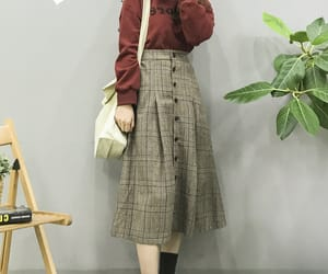 fashion, korean, and Harajuku image