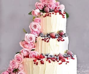 cake, delicious, and sweet image