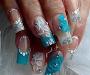 uñas, belleza, and nails glitter image