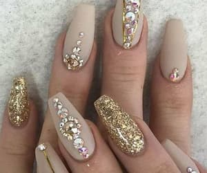 belleza, nails designs, and uñas image