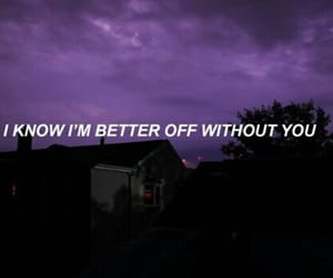 grunge, quotes, and purple image