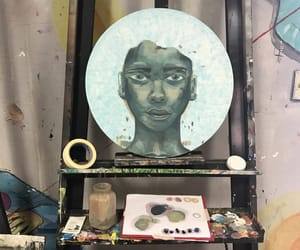 art, paint, and school image