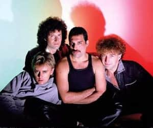 Queen, 80s, and Freddie Mercury image
